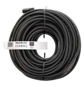 Valueline VGVT34020B300 - High Speed HDMI Kabel s Ethernetem HDMI Konektor - HDMI Konektor 30.0 m, černá