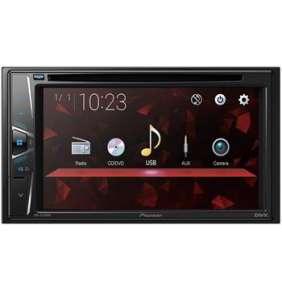 """Pioneer AVH-G120DVD DVD AV systém, 6,2"""" dot. obraz. WVGA., volitelné IR dálk.ovládání, VIDEO přes USB"""