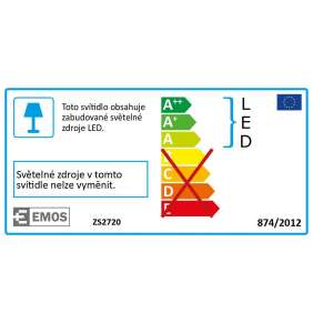 EMOS LED REFLEKTOR 20W-PIR PROFI