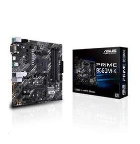 ASUS PRIME B550M-K soc.AM4 B550 DDR4 mATX M.2 D-Sub DVI HDMI