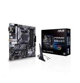 ASUS PRIME B550M-A (WI-FI) soc.AM4 B550 DDR4 mATX M.2 D-Sub DVI HDMI WF BT