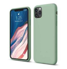 Elago kryt Silicone Case pre iPhone 11 Pro Max - Pastel Green
