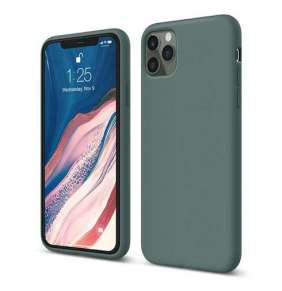 Elago kryt Silicone Case pre iPhone 11 Pro Max - Midnight Green