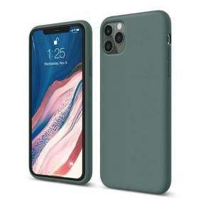Elago kryt Silicone Case pre iPhone 11 Pro - Midnight Green