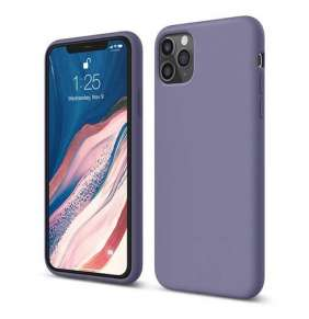 Elago kryt Silicone Case pre iPhone 11 Pro - Lavender Gray