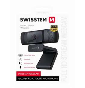 SWISSTEN WEBCAM FHD 1080P