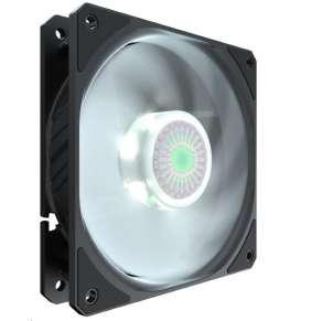 Cooler Master ventilátor SICKLEFLOW 120, bílý