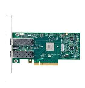 Mellanox ConnectX-4 Lx EN network interface card, 25GbE dual-port SFP28, PCIe3.0 x8, tall bracket, ROHS R6