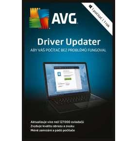 AVG Driver Updater, 1 lic. (12 měs.)