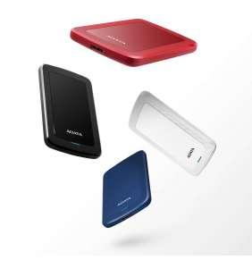 """ADATA Externí HDD 2TB 2,5"""" USB 3.1 HV300, červený"""