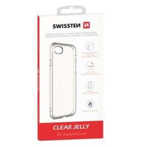 SWISSTEN POUZDRO CLEAR JELLY APPLE IPHONE 5/5S/SE TRANSPARENTNÍ