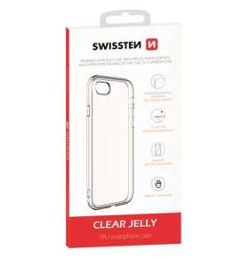 SWISSTEN POUZDRO CLEAR JELLY APPLE IPHONE XS/X TRANSPARENTNÍ