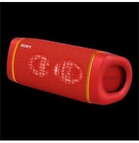 SONY SRS-XB33R Přenosný reproduktor XB33 s funkcí EXTRA BASS™ a technologií BLUETOOTH® - RED