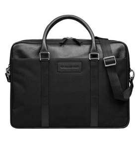 "dbramante1928 taška Ginza - 16"" Duo Pocket Laptop Bag - Black"