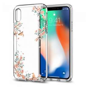 Spigen kryt Liquid Crystal Blossom pre iPhone X/XS - Nature