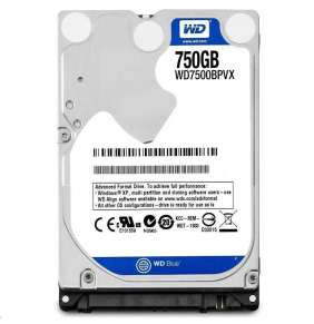 "WD BLUE WD7500BPVX 750GB SATA/600 8MB cache, 2.5"" AF 9.5 mm"