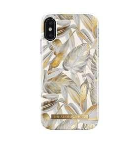iDeal Fashion Case iphone X / XS Platinum Leaves