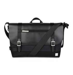Moshi taška Carta Compact Messenger Bag - Herringbone Black