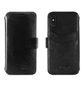 iDeal STHLM Wallet iPhone XS Max Black