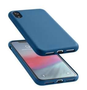 CellularLine SENSATION ochranný silikónový kryt  pre Apple iPhone XR, modrý