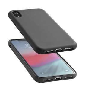CellularLine SENSATION ochranný silikónový kryt pre Apple iPhone XR, čierny