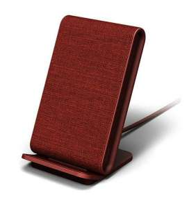 iOttie iON Wireless Fast Charging Stand 10W + QC 3.0 charger - Ruby Red