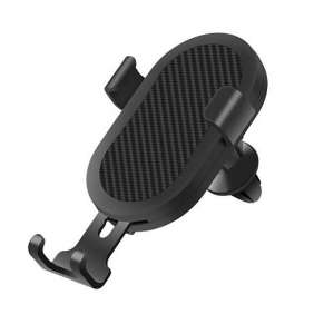 Devia Smart Car Gravity Sensing Qi Wireless Fast Charger - Black