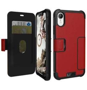 UAG puzdro Metropolis pre iPhone XR - Red