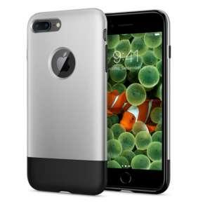 Spigen kryt Classic One pre iPhone 8 Plus - Gray