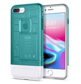 Spigen kryt Classic C1 pre iPhone 8 Plus - Bondi Blue