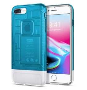 Spigen kryt Classic C1 pre iPhone 8 Plus - Blueberry