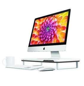 Satechi stojan F3 Smart Monitor Stand - White