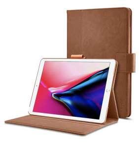 """Spigen puzdro Stand Folio Case pre iPad Pro 12.9"""" 2017 – Brown"""