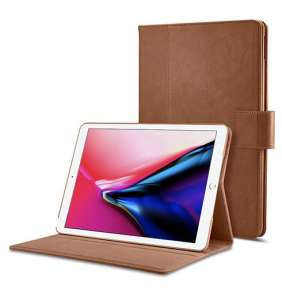 """Spigen puzdro Stand Folio pre iPad 9.7"""" 2017/2018 - Brown"""