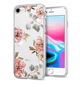 Spigen kryt Liquid Crystal Aquarelle pre iPhone 8/7 - Rose