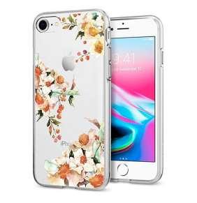 Spigen kryt Liquid Crystal Aquarelle pre iPhone 8/7 - Primrose