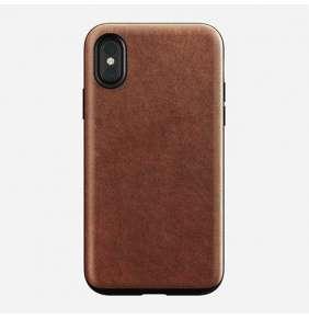 Nomad kryt Rugged Case pre iPhone X/XS - Rustic Brown