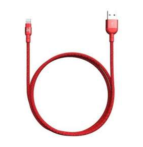 Adam Elements kábel PeAk II 120B Lightning to USB 1,2m - Red