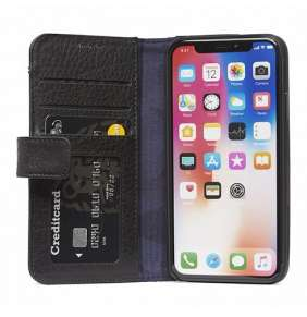 Decoded puzdro Leather Card Wallet pre iPhone XS/X - Black