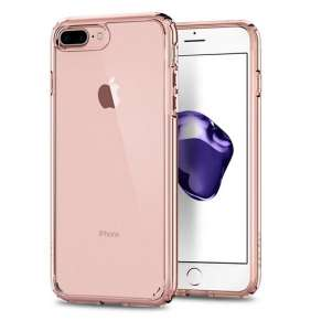 Spigen kryt Ultra Hybrid 2 pre iPhone 7 Plus/8 Plus - Rose Crystal