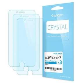 Spigen fólia Screen Protector Crystal pre iPhone 7/8 - Crystal Clear