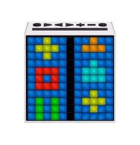 Divoom TimeBox LED White reproduktor