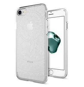 Spigen kryt Liquid Crystal pre iPhone 7 - Shine Clear