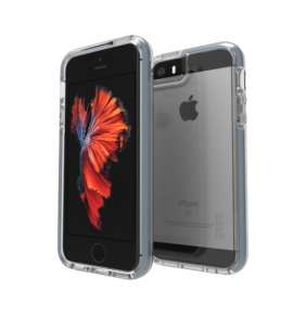 GEAR4 kryt Piccadilly D30 pre iPhone SE/5s/5 - Grey
