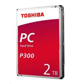 "TOSHIBA HDD P300 Desktop PC (CMR) 2TB, SATA III, 7200 rpm, 64MB cache, 3,5"", BULK"