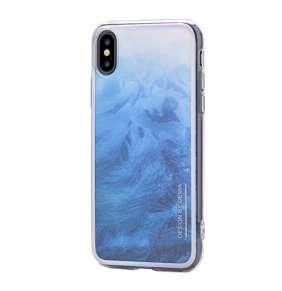 Devia kryt Landscape Case pre iPhone X/XS - Blue