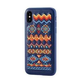 Devia kryt Flower Embroidery Case pre iPhone X/XS - Bohemian