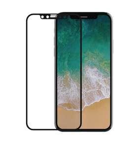 Devia ochranné sklo FS Anti-Fingerprints pre iPhone X/XS/11 Pro - Black Frame