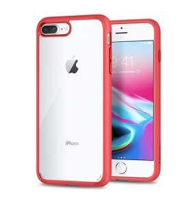 Spigen kryt Ultra Hybrid 2 pre iPhone 7 Plus/8 Plus - Red