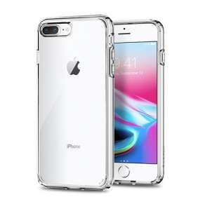 Spigen kryt Ultra Hybrid 2 pre iPhone 7 Plus/8 Plus - Crystal Clear